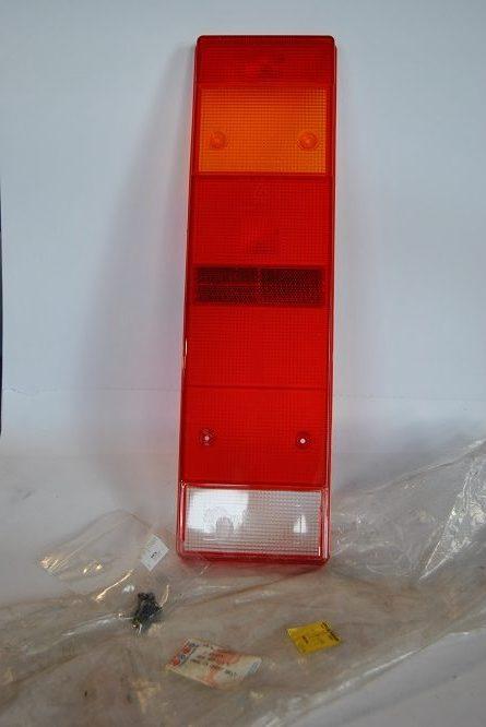 Glas voor rem,- knipper-,achter-,achteruitrijlicht reflector en mistachterlicht art.nr. 2D0945111D voor VW LT