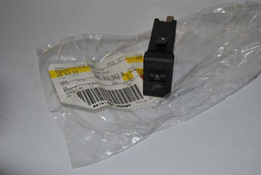 Schakelaar met regelaar voor stoelverwarming satijnzwart voor Audi art.nr. 4A0963563B 01C