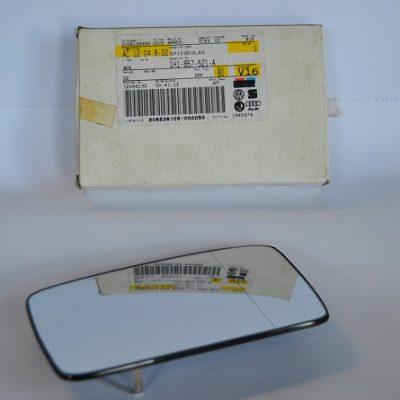 Spiegelglas (groothoek) met draagplaat art.nr. 1H1857521A