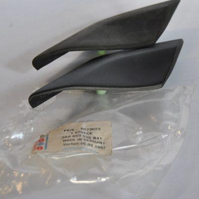 Beschermlijst voor zijpaneel satijnzwart art.nr. 3A0853535 B41