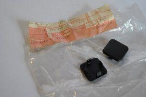 Afdekkap voor deurpaneel zwart art.nr. 357868181 4FB