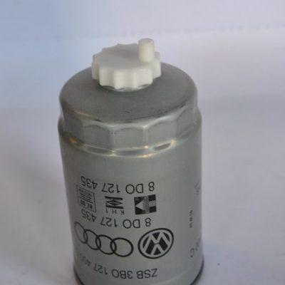 Brandstoffilter voor Audi en VW modellen art.nr. 8D0127435
